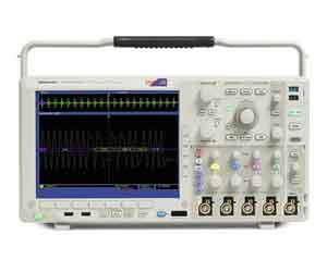 Tektronix MSO4054B  TPP0500 x 4, P6616 x 1